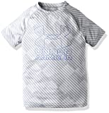 (アンダーアーマー)UNDER ARMOUR UA TECH NOVELTY BIG LOGO SS 1299461 941 OVERCAST GRAY/ULTRA BLUE YMD