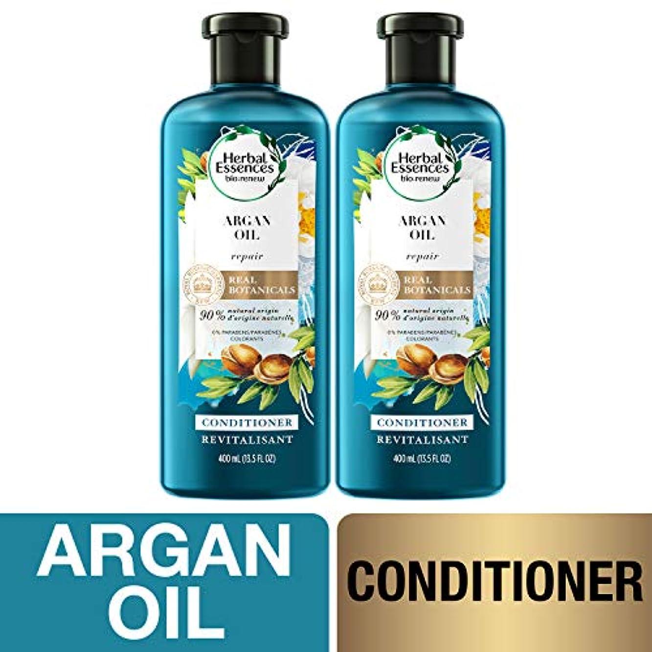 形成ミスペンド助言海外直送品  Herbal Essences  アルガンオイル、モロッカンオイル シャンプー&コンディショナー