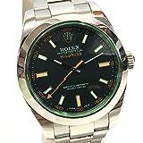 (ロレックス) ROLEX 116400GV ミルガウス オイスター パーペチュアル オイスターブレスレット 腕時計 SS メンズ 新品同様 中古