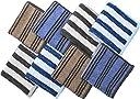 ハンカチ メンズ タオルハンカチ ハンドタオル セット 綿100 (24×24cm)