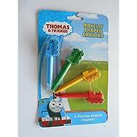 Thomas & Friendsノベルティ型クレヨン4パック