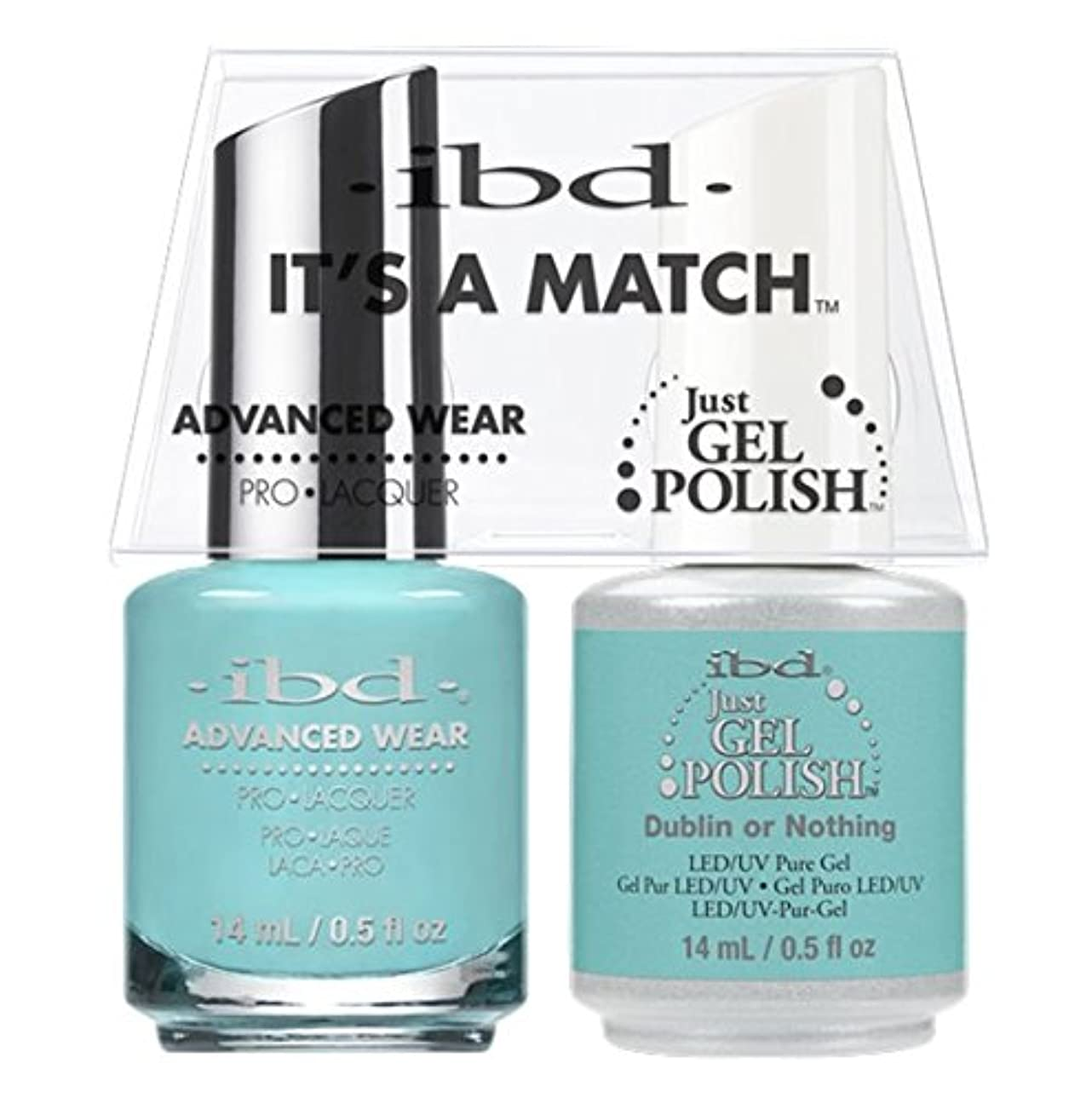 ibd - It's A Match -Duo Pack- Destination Collection - Dublin or Nothing - 14 mL / 0.5 oz Each