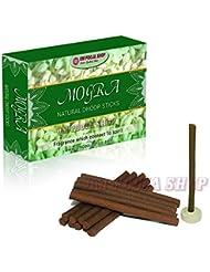 Om Pooja Shop Mogra (ジャスミンの花) 天然のフープスティック 100本