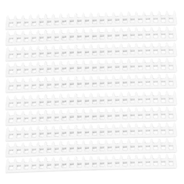Perfk アクリル 1:25スケール 柵モデル マイクロ風景 装飾品 全2サイズ - 150x16x2mm