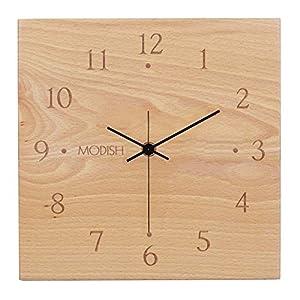 モディッシュ 木製壁掛け時計 ケヤキ G-1161N