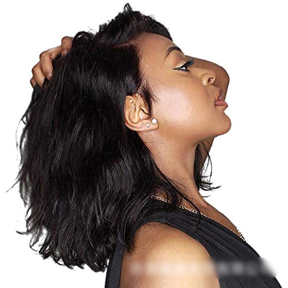 犠牲かんがい夜WASAIO フロントレースウィッグリアルな巻き毛のバージンの人間の毛髪とスタイル交換ヘアライン(8