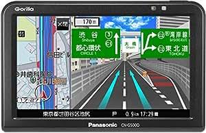 パナソニック ポータブルカーナビ ゴリラ CN-G500D 5インチ ワンセグ SSD16GB バッテリー内蔵 PND 2016年モデル