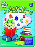 LeapFrog Ready for 1st Grade Reading Workbook with 60 Pages and 60 Reward Stickers (19403) [並行輸入品]