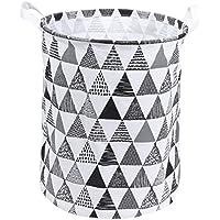 収納バスケット 汚れた服を置くかご おもちゃの箱 防水 折りたたみができる 麻綿 布 40* 35cm   Broadroot (灰色)