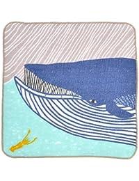 むす美 kata kata ふわふわタオル クジラ