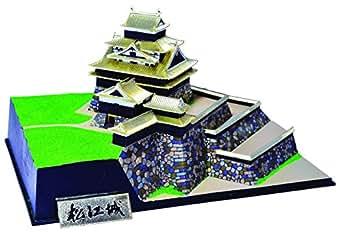 童友社 1/500 日本の名城 ゴールドシリーズ 国宝 松江城 プラモデル JG11