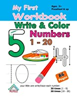 My First Workbook - Write and Color Numbers (1-20) [並行輸入品]