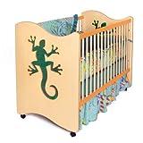 Room Magic 4 Piece Crib Set, Little Lizards by Room Magic