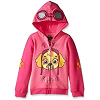 Paw Patrol Little Girls' Skye Toddler Hoodie, Hot Pink/Heather Pink, 5T [並行輸入品]