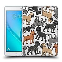 Head Case Designs ケーン・コルソ ドッグブリード・パターンズ6 Samsung Galaxy Tab A 9.7 専用ソフトジェルケース
