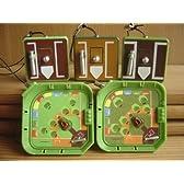 野球 盤 アクション ストラップ 全5種 消える魔球 ギミック B 全5種 1 消える魔球装置ストラップ(野球盤AM