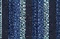 50cm単位 生地 布 綿 和調 三川地木綿 ストライプ [在庫共有品] 45000 (7(藍色・縞)) [並行輸入品]