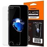 Amazon | 【Spigen】 iPhone7 Plus ガラスフィルム, GLAS.tR SLIM ** 1枚入 ** [ 液晶保護 9H硬度 Rラウンド 加工 ] アイフォン 7 プラス 用 (iPhone7 Plus, 【043GL20608】) | 液晶保護フィルム 通販