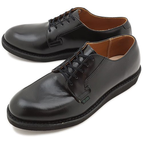 REDWING レッドウィング ブーツ #101 POSTMAN OXFORD ポストマン オックスフォード BLACK CHAPARRAL(RED WING) 9.5(27.5cm)