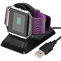 Fitbit Blaze充電器、Fitbit Blaze充電器充電スタンド、Addigital Fitbit Blaze充電ドックステーションクレードルホルダーデスクトップ充電器ケーブルfor Fitbit Blaze Smart Fitness Watch ADD-Blachger-161221-01A