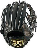 ZETT(ゼット) 野球 軟式 オールラウンド グラブ(グローブ) ウイニングロード (右投げ用) BRGB33610 ブラック
