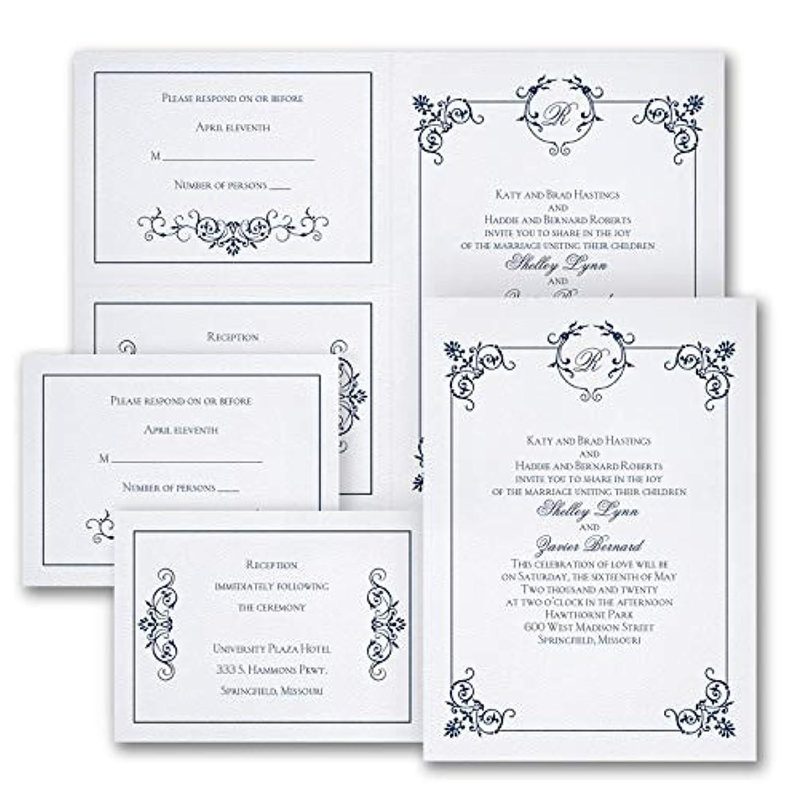 スリラーほこりっぽい逆さまにエレガントな雰囲気 250枚入り - 9月発送店 結婚式全般