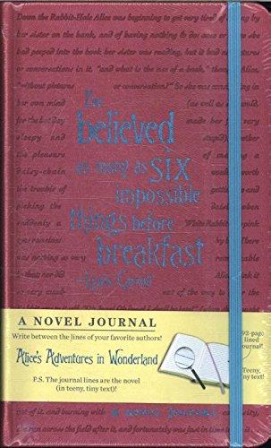 Alice's Adventures in Wonderland (A Novel Journal)
