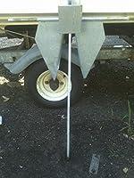 ライト重量Danforth / Fluke亜鉛メッキアンカー9kg / 20lb