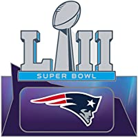 Super Bowl LII ( 52 ) New England Patriotsピン