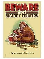 Bigfoot国–ないままFood inテント( Playingカードデッキ–52カードPokerサイズwithジョーカー)