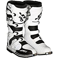 JT RACING ジェティーレーシング PODIUM Boots 2016モデル オフロードブーツ ホワイト/ブラック 13(約30cm)