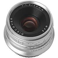 サインソニック 25mm f1.8 MF レンズ マイクロフォーサーズ用 M4/3 Panasonic オリンパス マニュアルフォーカス