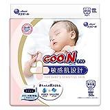 【テープ 新生児サイズ】グーン プラス 敏感肌設計 (お誕生~5kg) 88枚