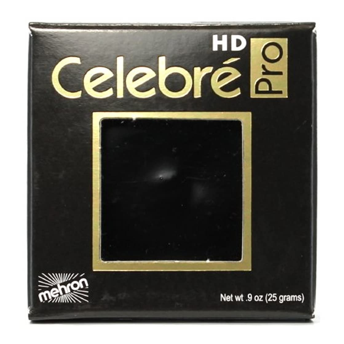 (3 Pack) mehron Celebre Pro HD Make-Up - Black (並行輸入品)