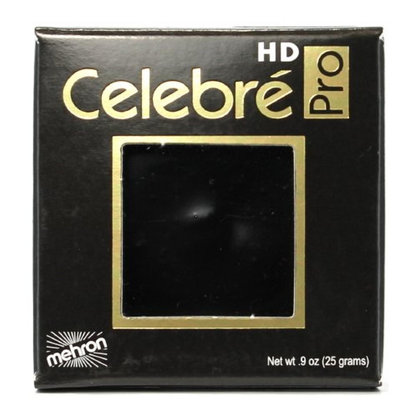飲み込む若さ代数的(3 Pack) mehron Celebre Pro HD Make-Up - Black (並行輸入品)