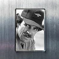 TOM SELLECK - オリジナルアート冷蔵庫マグネット #js003