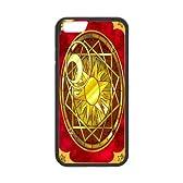 カードキャプターさくら CLAMP Apple iPhone6 4.7インチ対応ケース アイフォーン6 (4.7インチ)専用 iPhone6 Plus 4.7inchカバー&ジャケット&保護シート レーザー Laser technology クリアケース 軽量 耐磨耗/耐傷性 PC+TPU素材 携帯スマホカバーケース