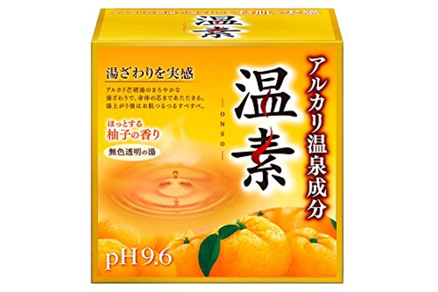 成果洞察力のある電信アース製薬 温素 入浴剤 柚子の香り 15包入 [医薬部外品]