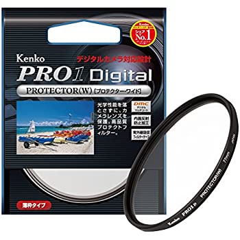 Kenko 77mm レンズフィルター PRO1D プロテクター レンズ保護用 薄枠 日本製 277546