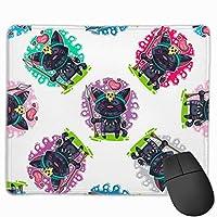 猫の愛 マウスパッド 25×30 大判 ノンスリップ 防水 ゲーミング おしゃれ マウスの精密度を上がる