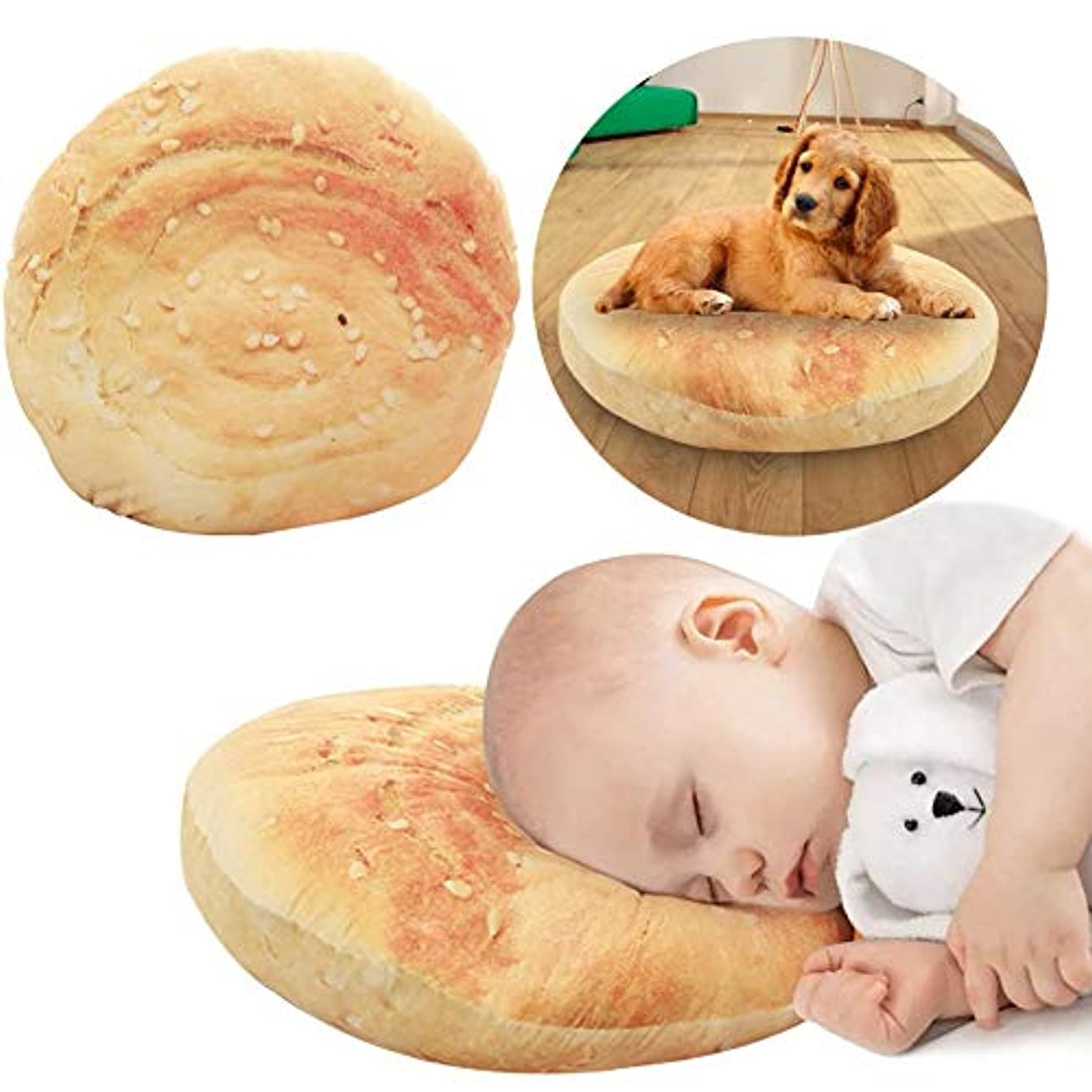 標高不可能な自動車40センチラウンド枕朝食ケーキ大きな枕クッションソフトで快適なフードクッションパーソナライズギフトぬいぐるみ