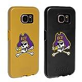 イーストパック East Carolina Piratesファンパック2ケースfor Samsung Galaxy s7withガードガラススクリーンプロテクター