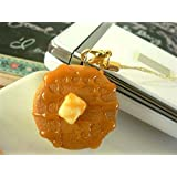 食品サンプル屋 食品サンプル 携帯ストラップホットケーキ メープル網02P03Dec16