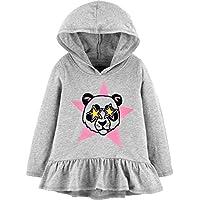 OshKosh B'Gosh Girls Sequin Pullover Hoodie Hooded Sweatshirt