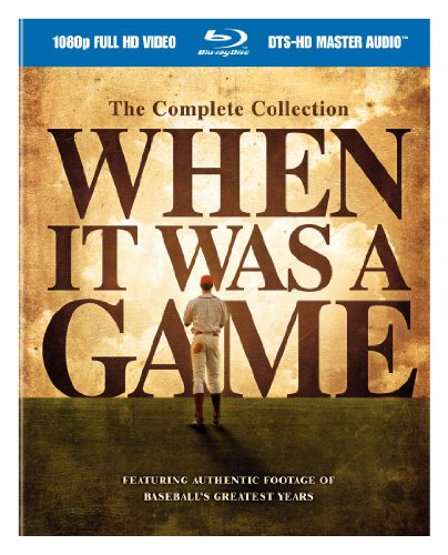 When It Was a Game: Complete Collection [Blu-ray] [Import]