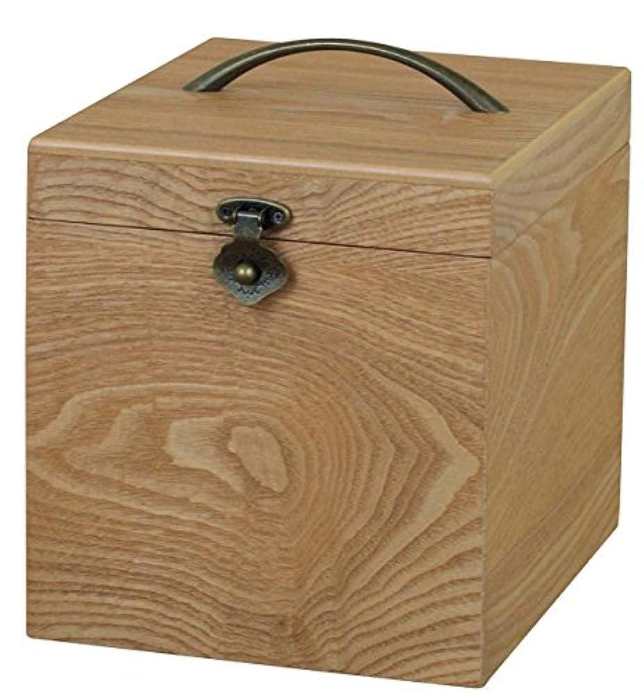 アッパー脆い野ウサギナチュラリー コスメティックボックス ロングミラー G-2413N