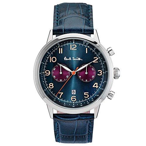 ポールスミス PAUL SMITH 腕時計 P10012 PRECISION メンズ レザーベルト [並行輸入品]