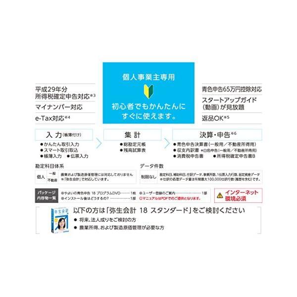 【旧商品】やよいの青色申告 18 |消費税法改...の紹介画像6