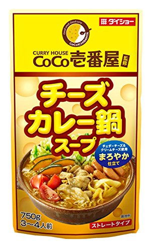 ダイショー CoCo壱番屋 チーズカレー鍋スープR17 750g