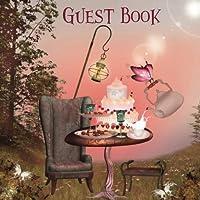 Guest Book: Alice In Wonderland Outdoor Tea Party Edition